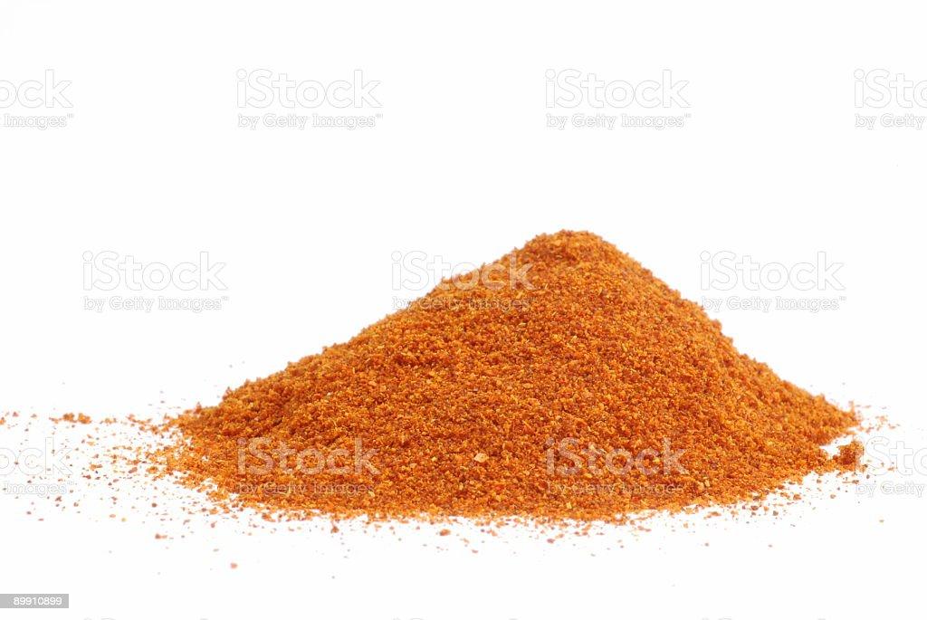 Paprika powder royalty-free stock photo