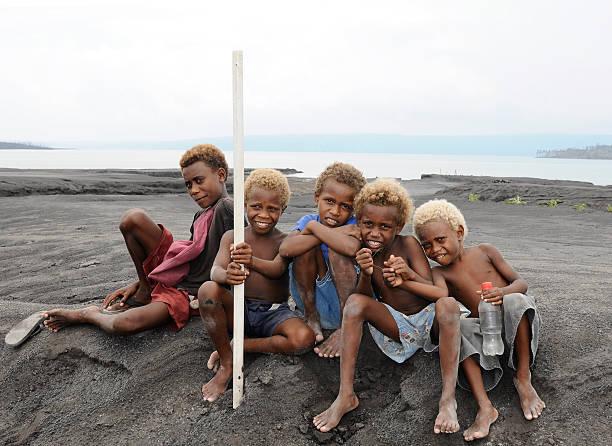 Papua-Neuguineaner Kinder – Foto