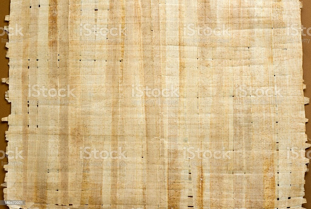 papyrus paper royalty-free stock photo