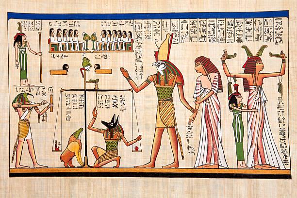 papyrus - egyptisk kultur bildbanksfoton och bilder