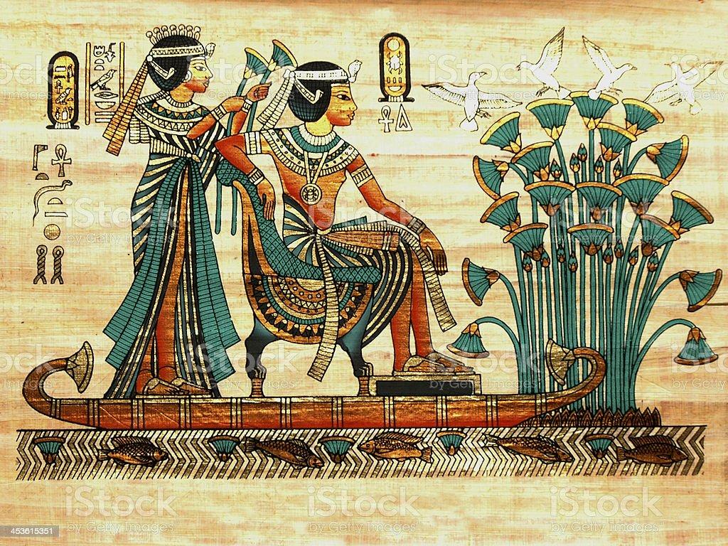 Papyrus royalty-free stock photo