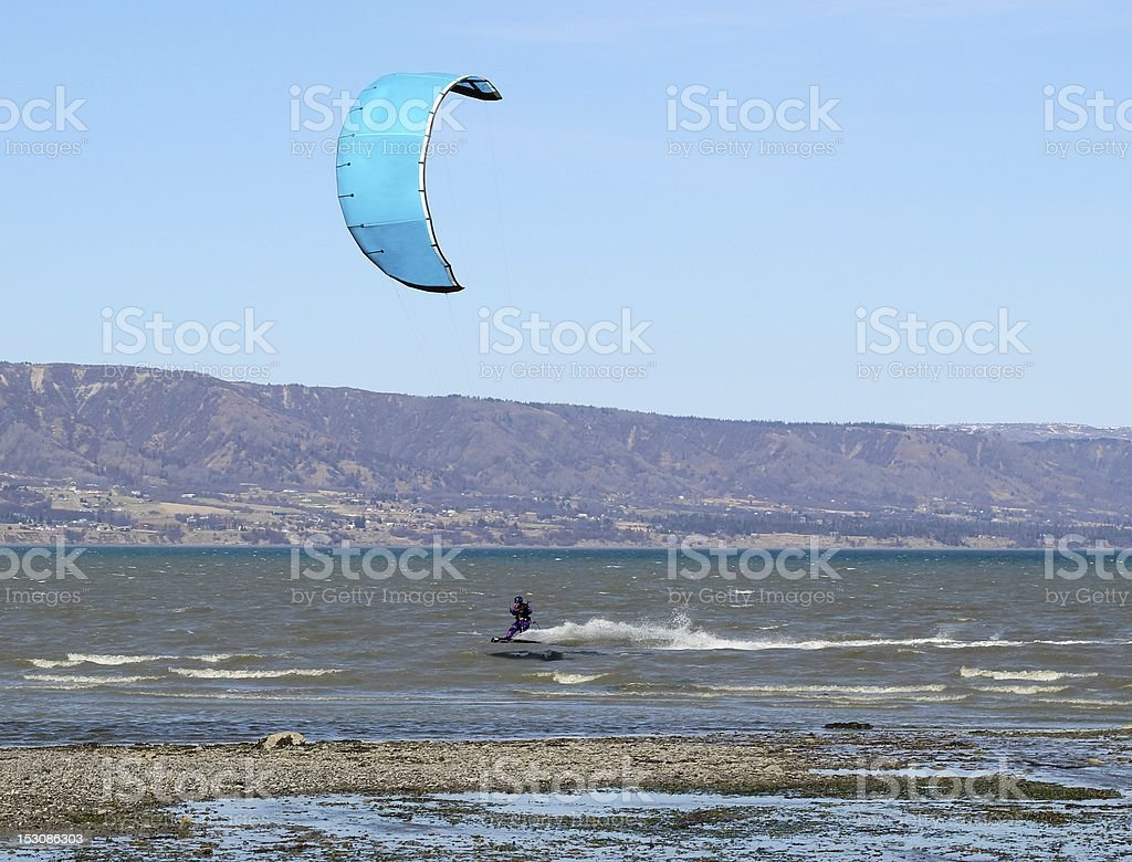 Para surfer in action royalty-free stock photo