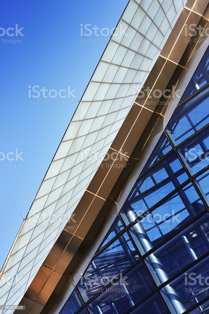Parabola Architecture Roof Skylight royalty-free stock photo
