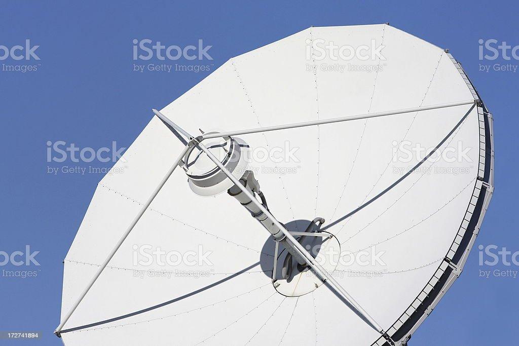 Parabolic Antenna royalty-free stock photo