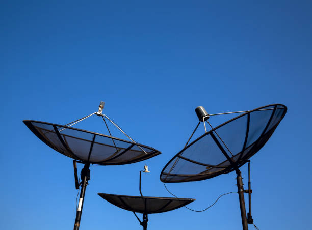 Parabolsatelliten-Antenne – Foto