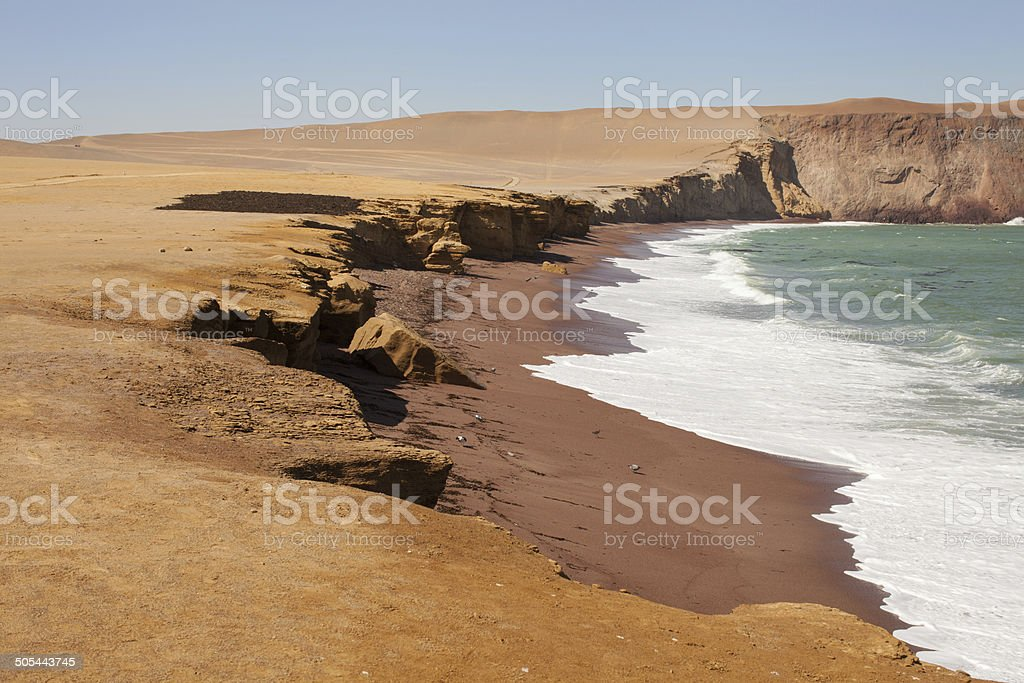 Paracas National Reserve stock photo