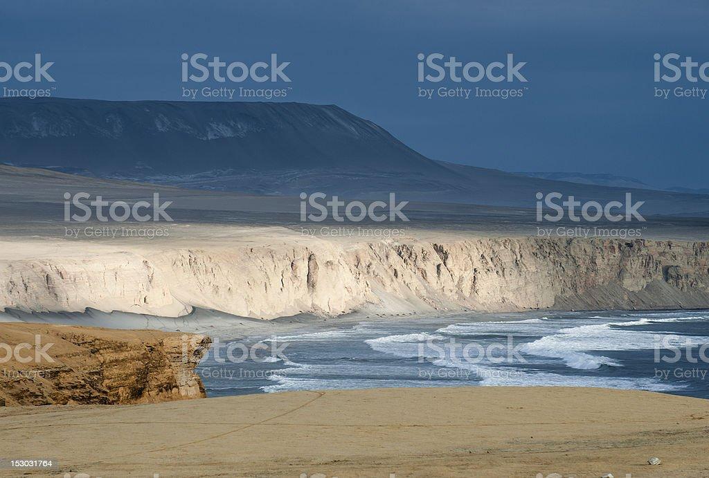 Paracas, Peruvian Coastline stock photo