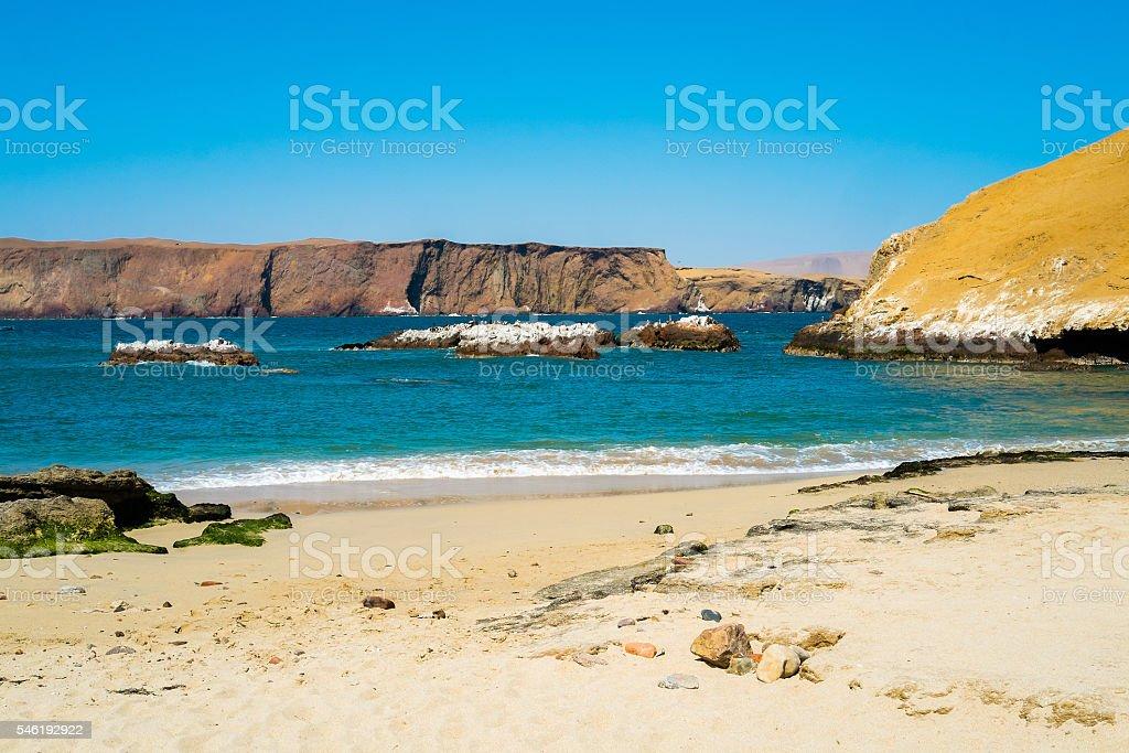 Paracas stock photo