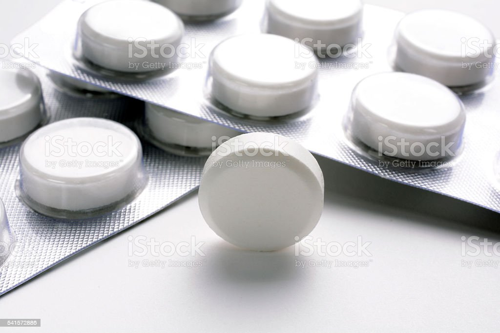 Paracetamol Pills-2 stock photo