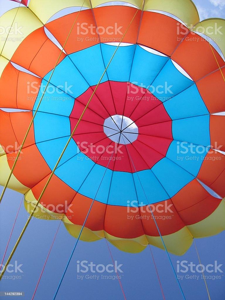 Parachute Balloon royalty-free stock photo