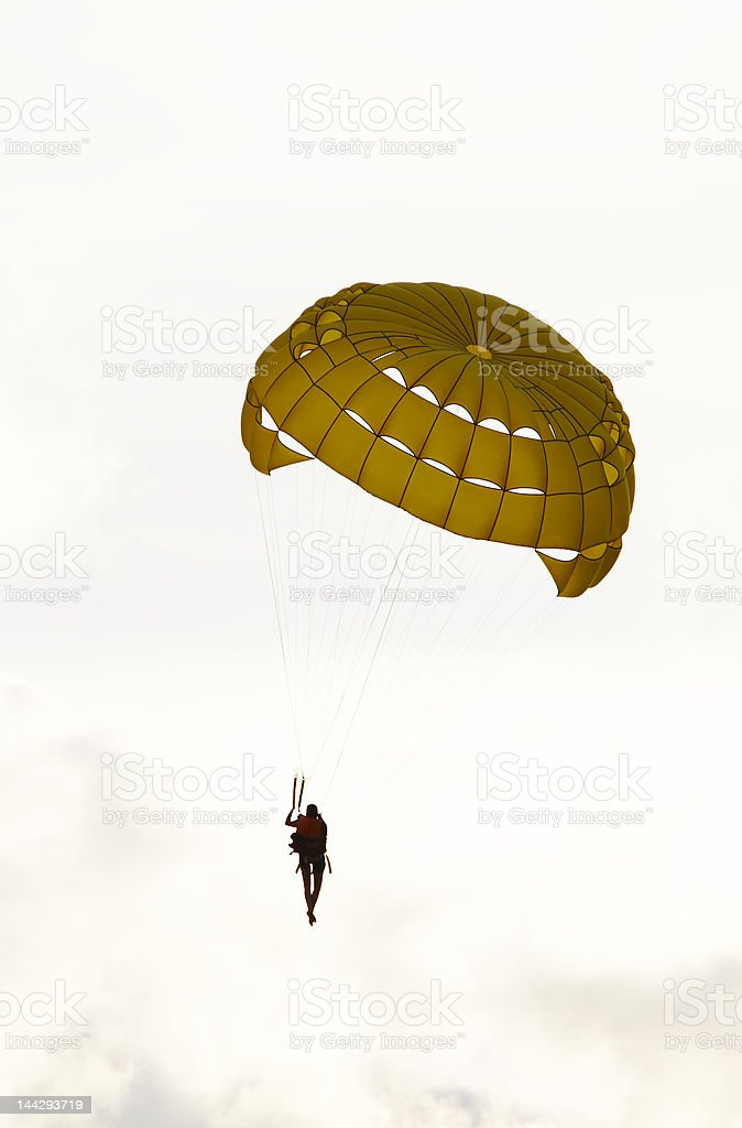 parachute royalty-free stock photo
