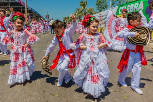 Parade Karnevalsfest von Barranquilla Atlantico Kolumbien – Foto