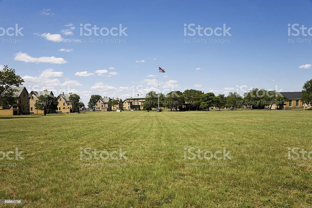Parade Ground royalty-free stock photo