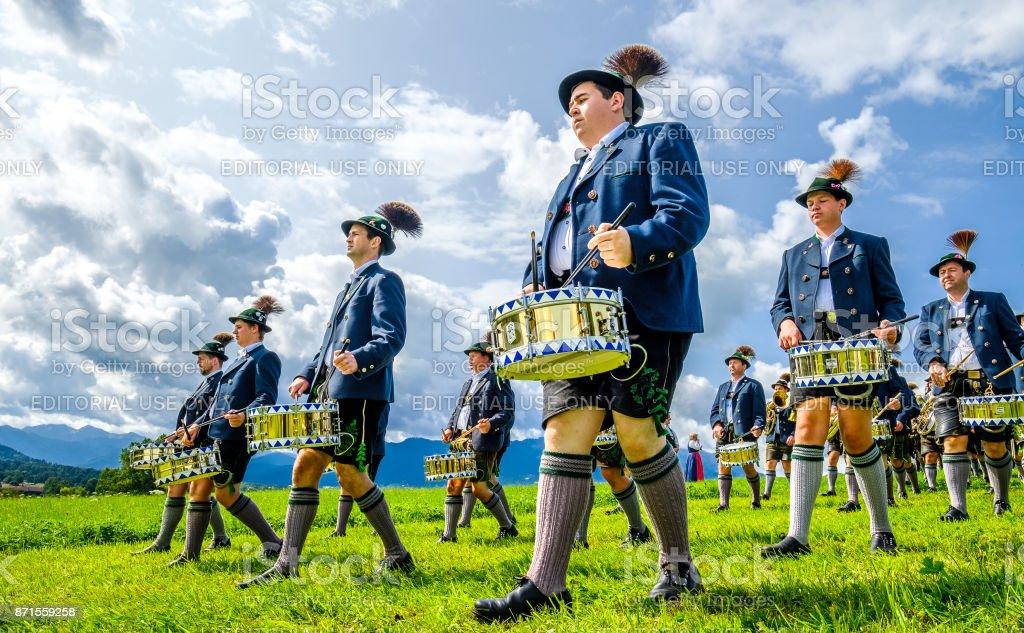 Parade in Gaißach - Bayern – Foto