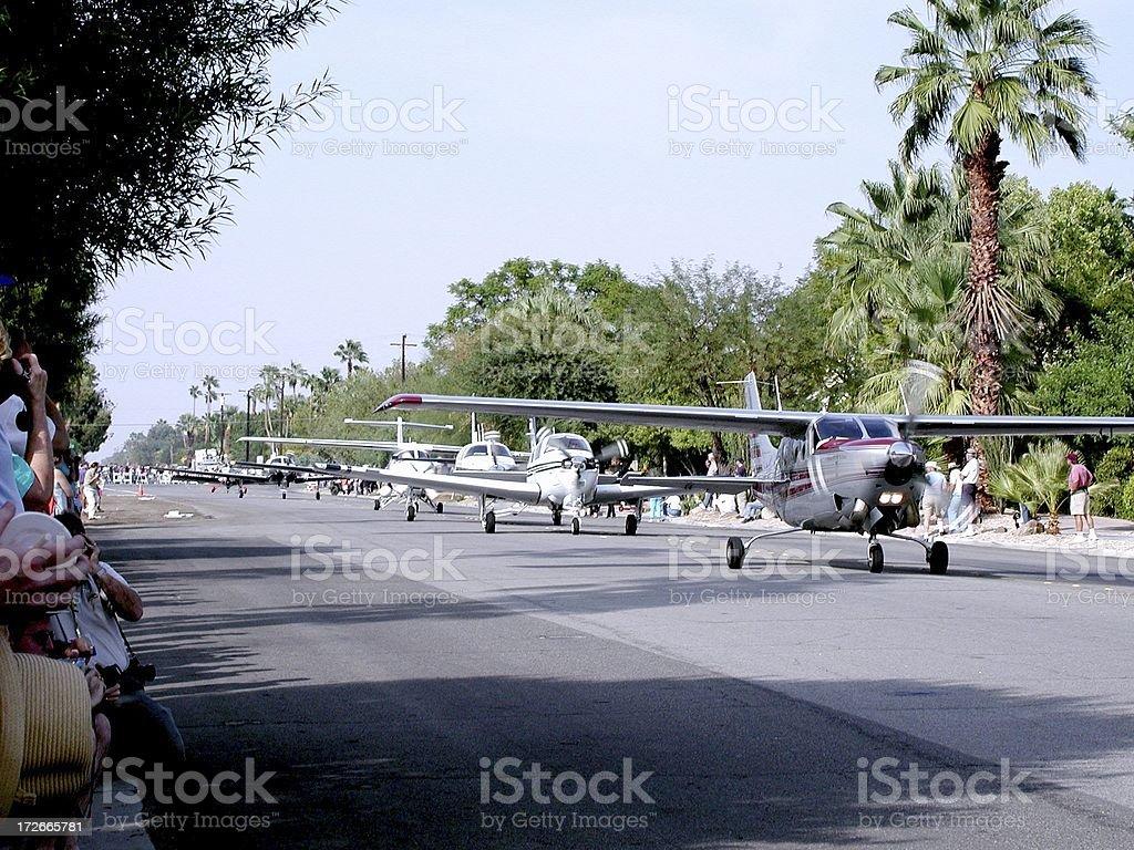 Parade of Planes royalty-free stock photo