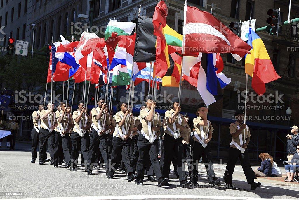 NATO Parade stock photo