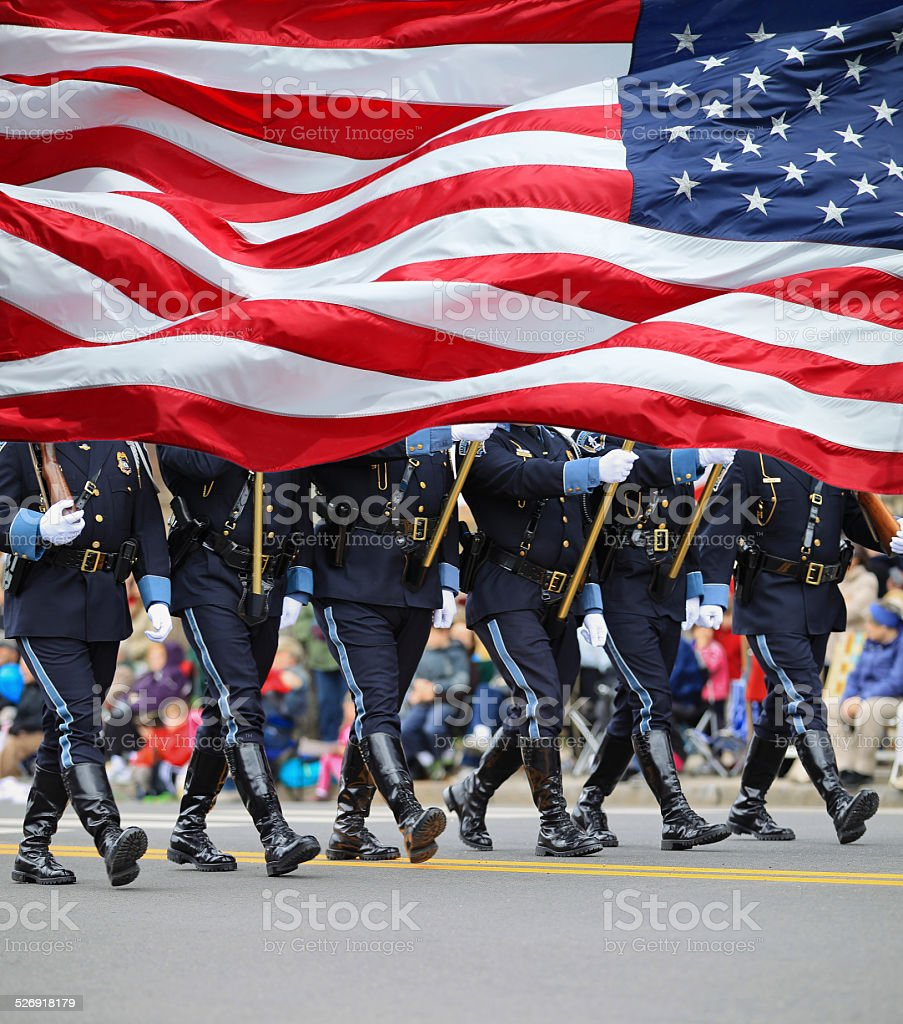 Parade stock photo
