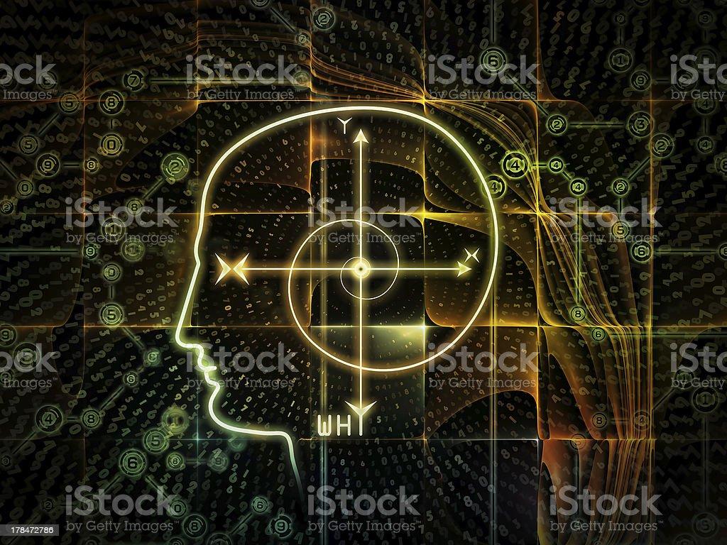 Paradigm of Consciousness royalty-free stock photo