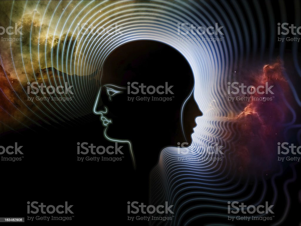 Paradigm of Human Mind royalty-free stock photo