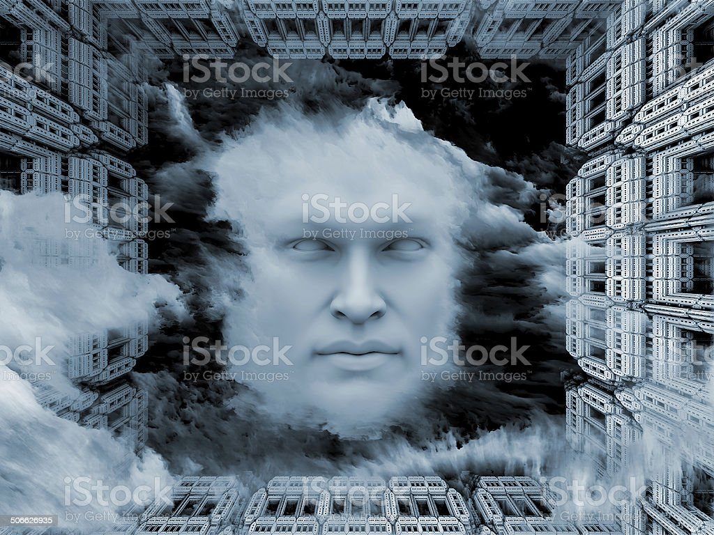 Paradigm of the Mind stock photo