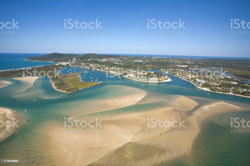 Paradise Australia stock photo