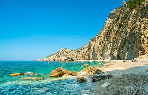 Paradise Beach nahe Liapades, Insel Korfu, Griechenland – Foto