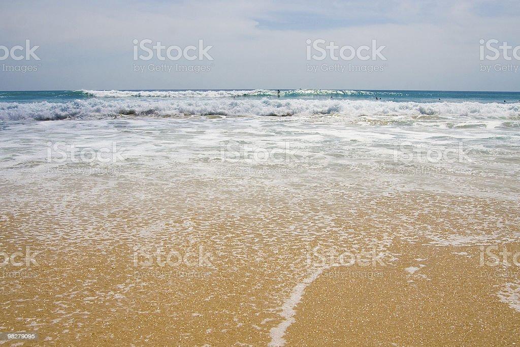 Spiaggia di paradiso foto stock royalty-free