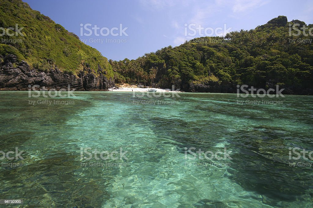 Paradise Beach royalty-free stock photo
