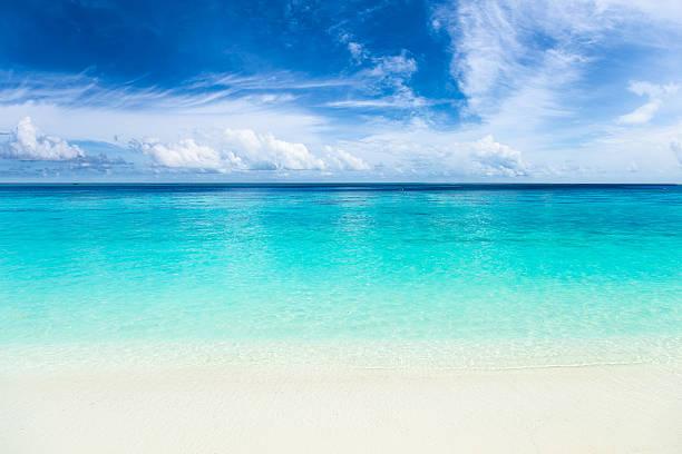 Paraíso Playa con agua azul turquesa - foto de stock