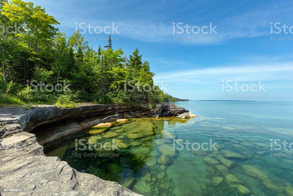 Paradise Cove Am Lake Superior Michigan Stock-Fotografie und mehr ...