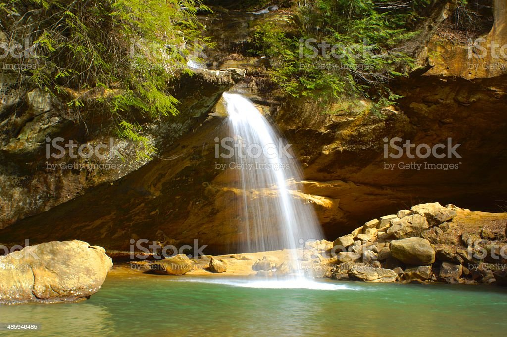 Paradise Falls stock photo