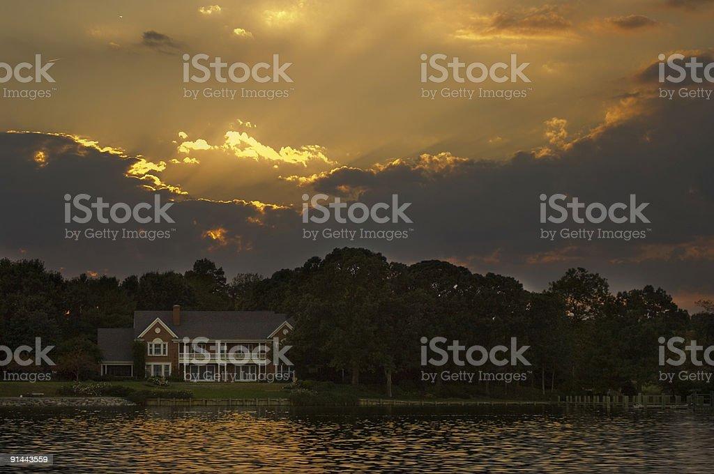 Paradise Home stock photo