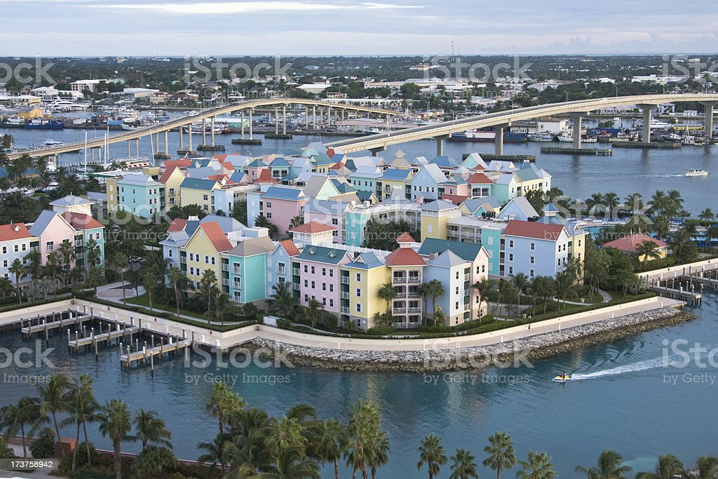 Paradise Island Nassau Bahamas stock photo