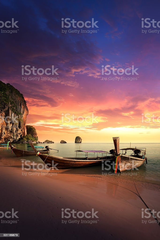 Paradise islands of Thailand stock photo