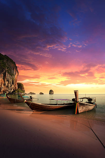 paradise islands of thailand - phuket stock photos and pictures