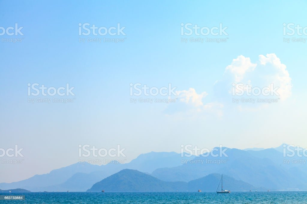 Paradise - Nature Landscape stock photo
