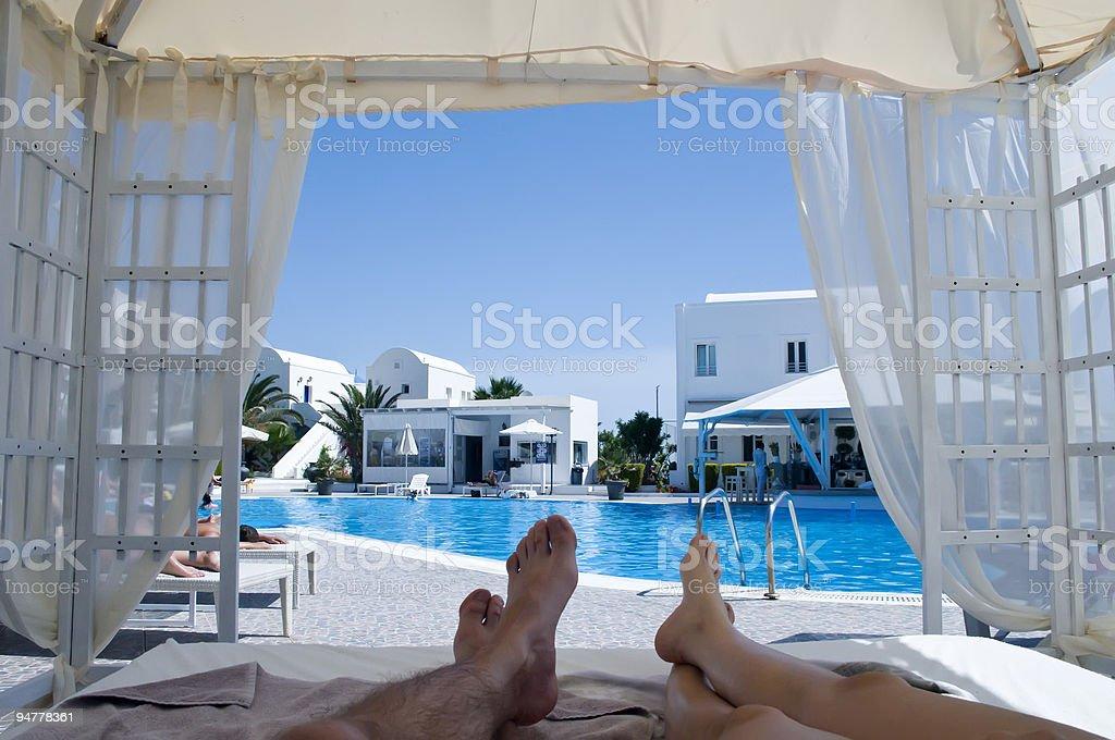 Paradise on Earth royalty-free stock photo