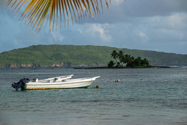 Paradise on the beach stock photo