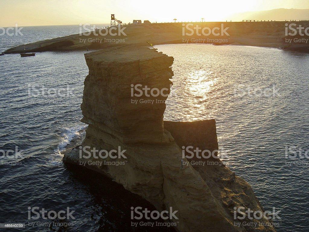 Paradise Point Beach, Karachi, Sind, Pakistan stock photo