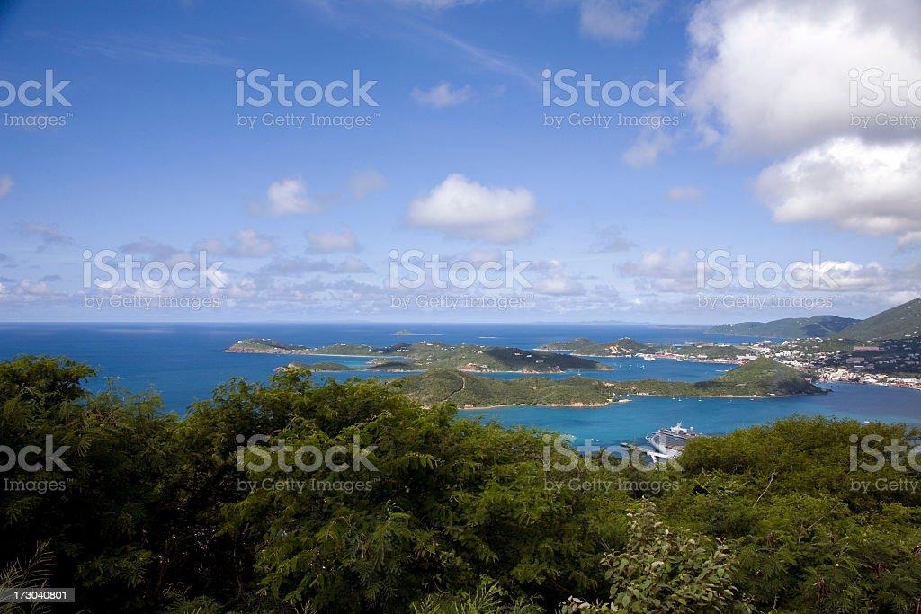 Paradise Point royalty-free stock photo