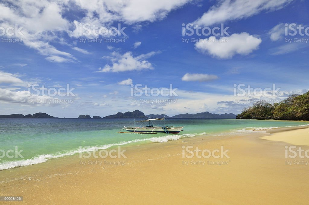 Paradise Scene royalty-free stock photo