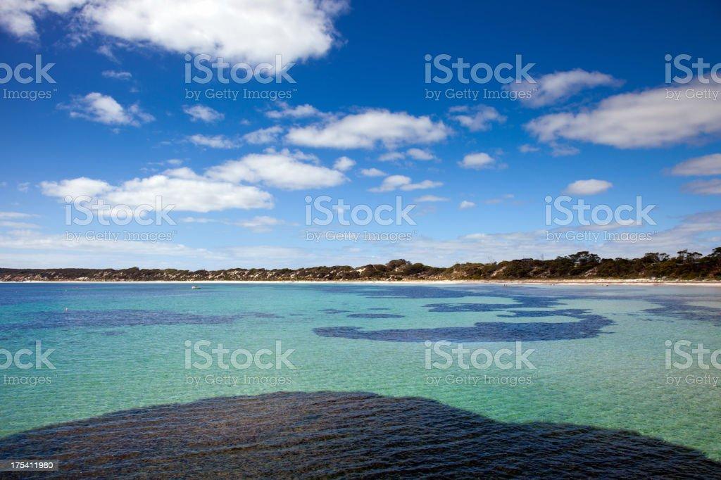Paradise sea view stock photo