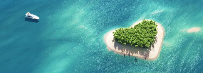 istock Paradise tropical island 613050986