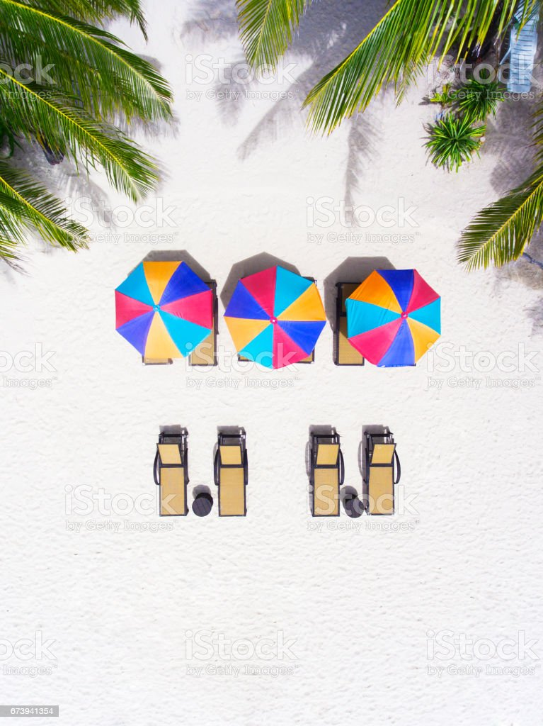 Paradise vacation stock photo
