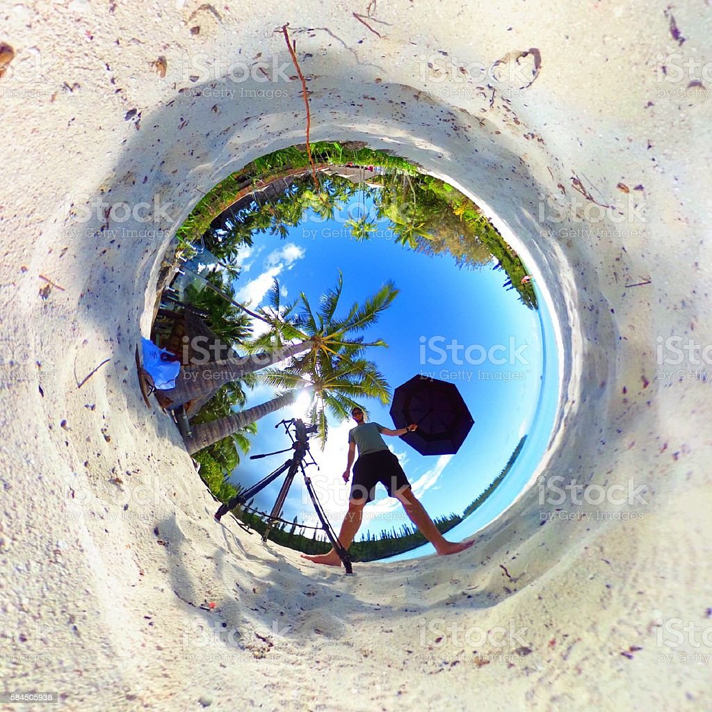 Paradise Vortex stock photo