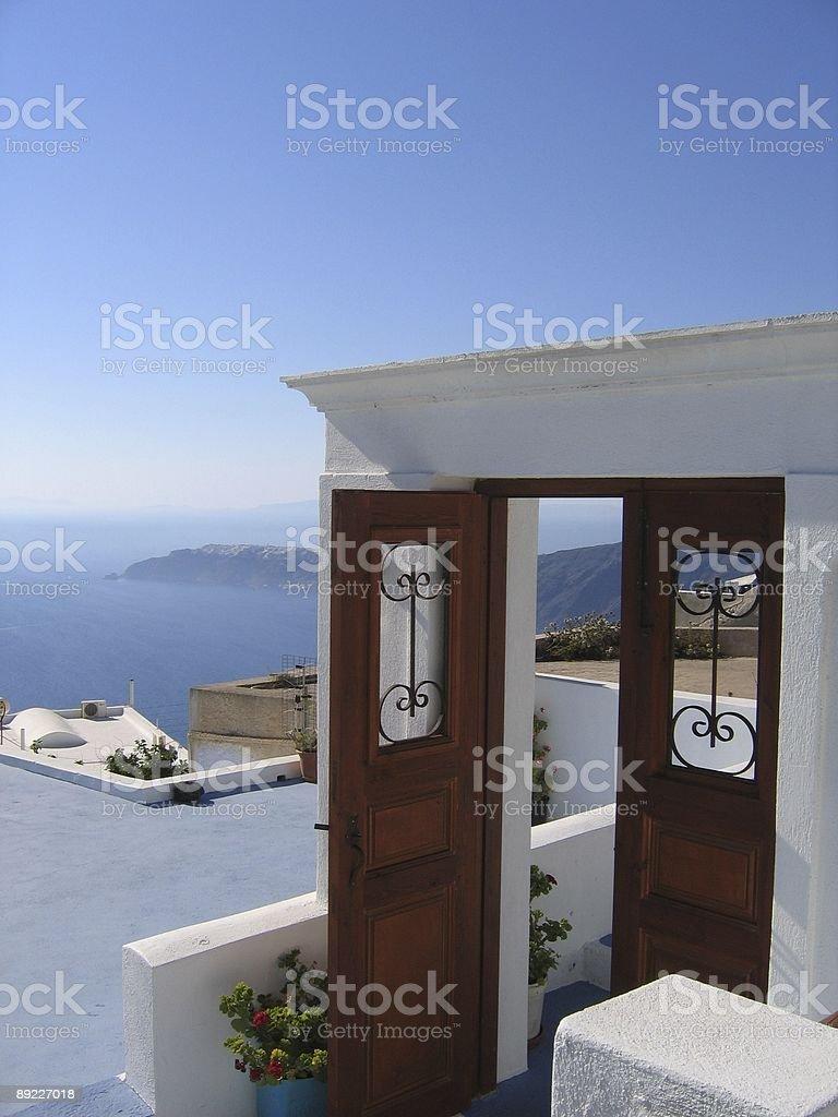 paradise´s doors royalty-free stock photo