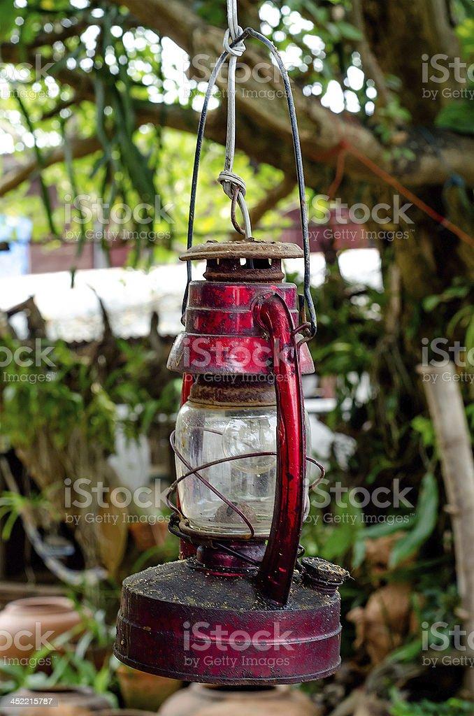 Paraffin lamp royalty-free stock photo