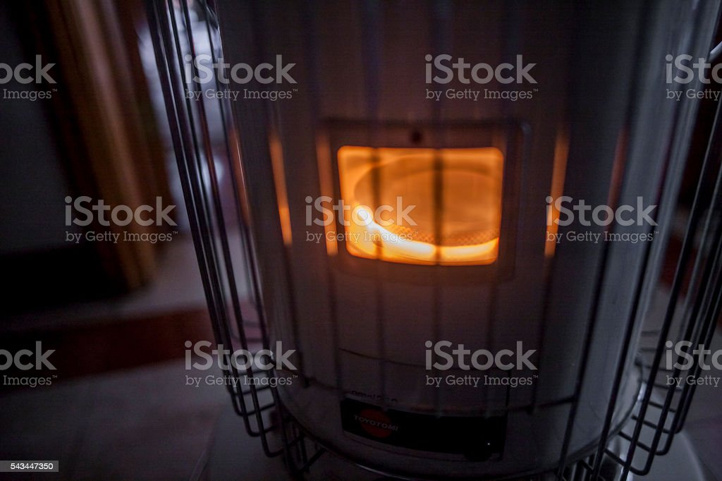 paraffin stove stock photo