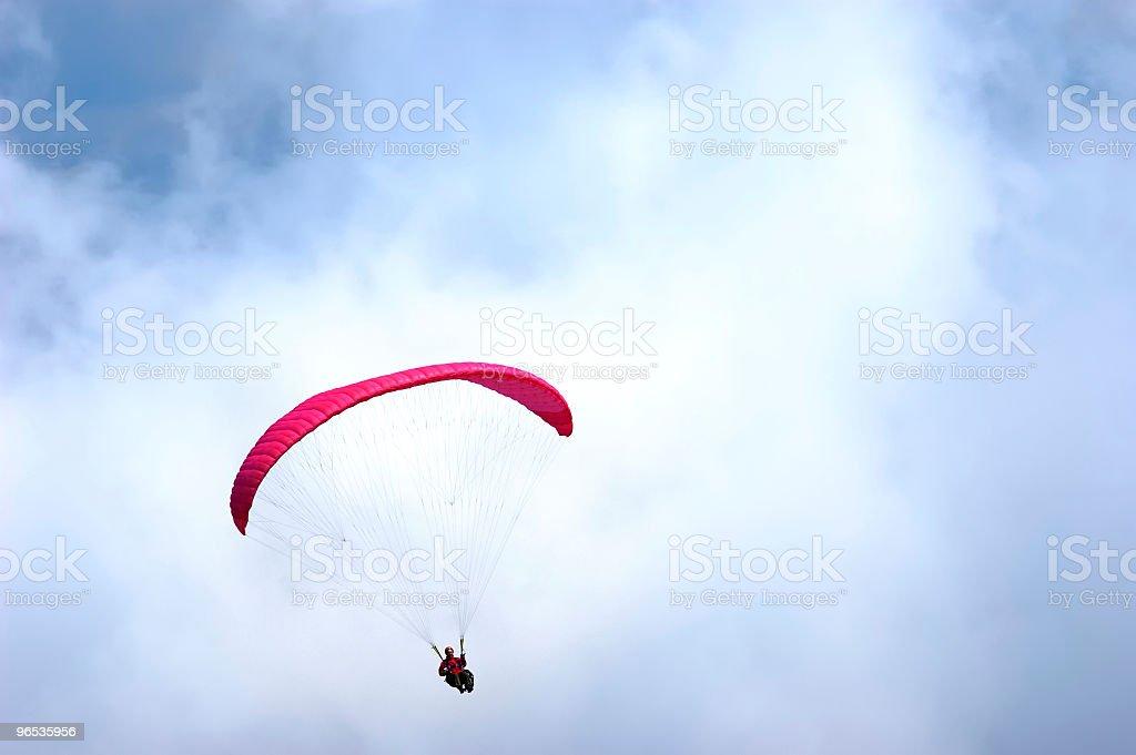 paraglider - Zbiór zdjęć royalty-free (Biały)