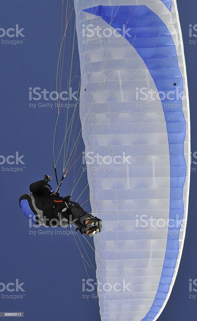 Paraglider y distancia foto de stock libre de derechos